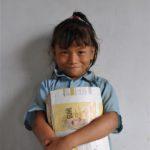 trots op haar nieuwe school