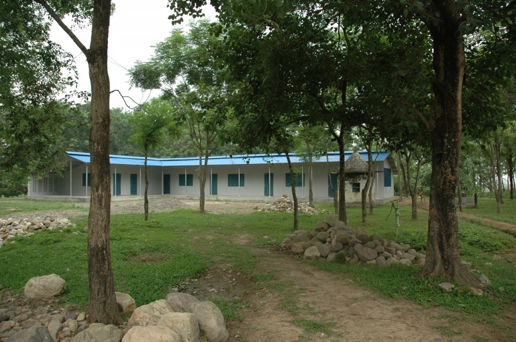 The school for illiterate women in Danda