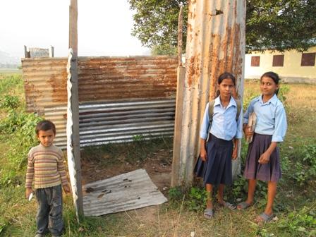 WC bij een school
