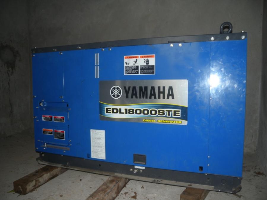 een generator net een capaciteit om het hele ziekenhuis 24 uur van energie te voorzien